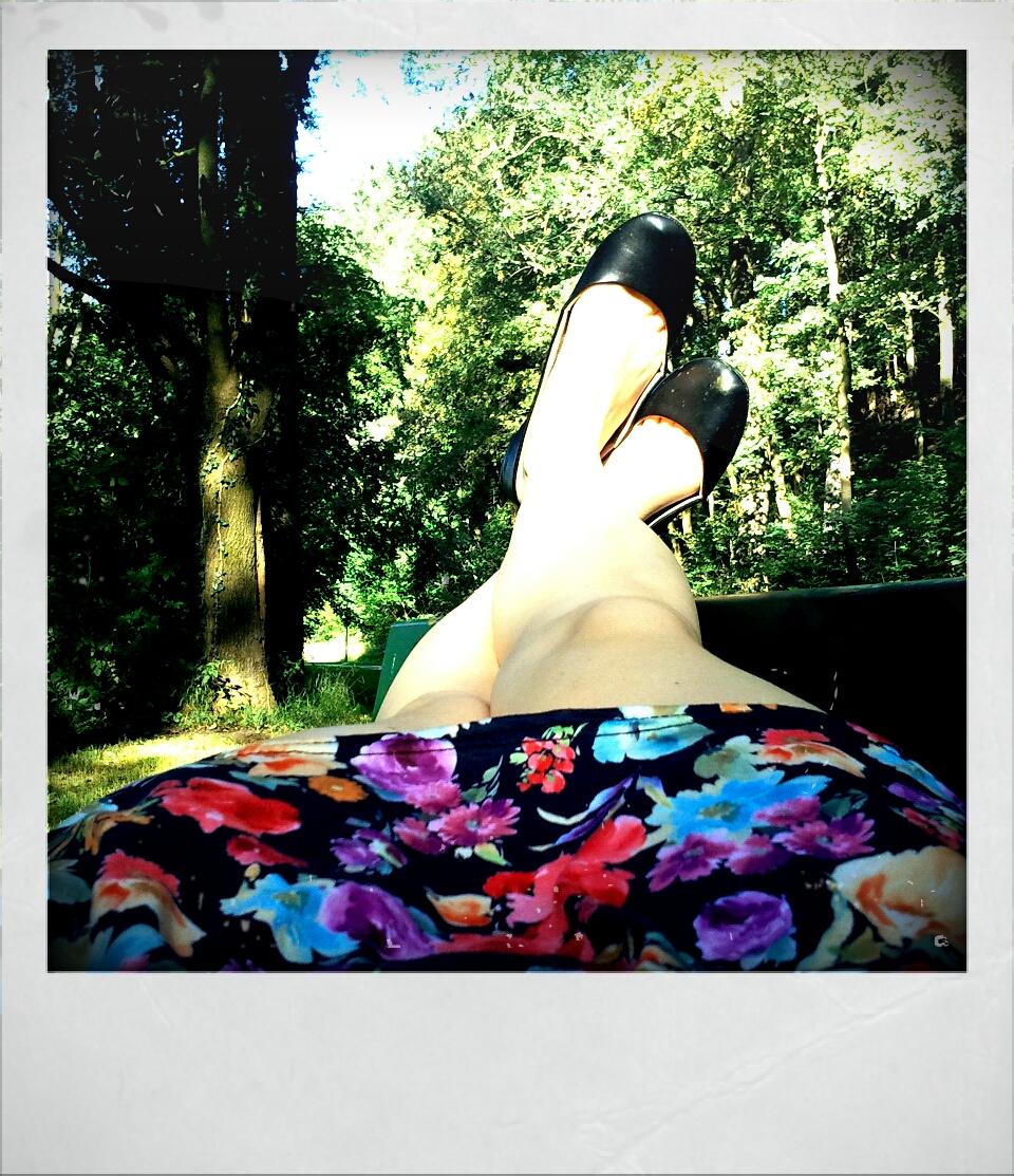 Chillig im Park