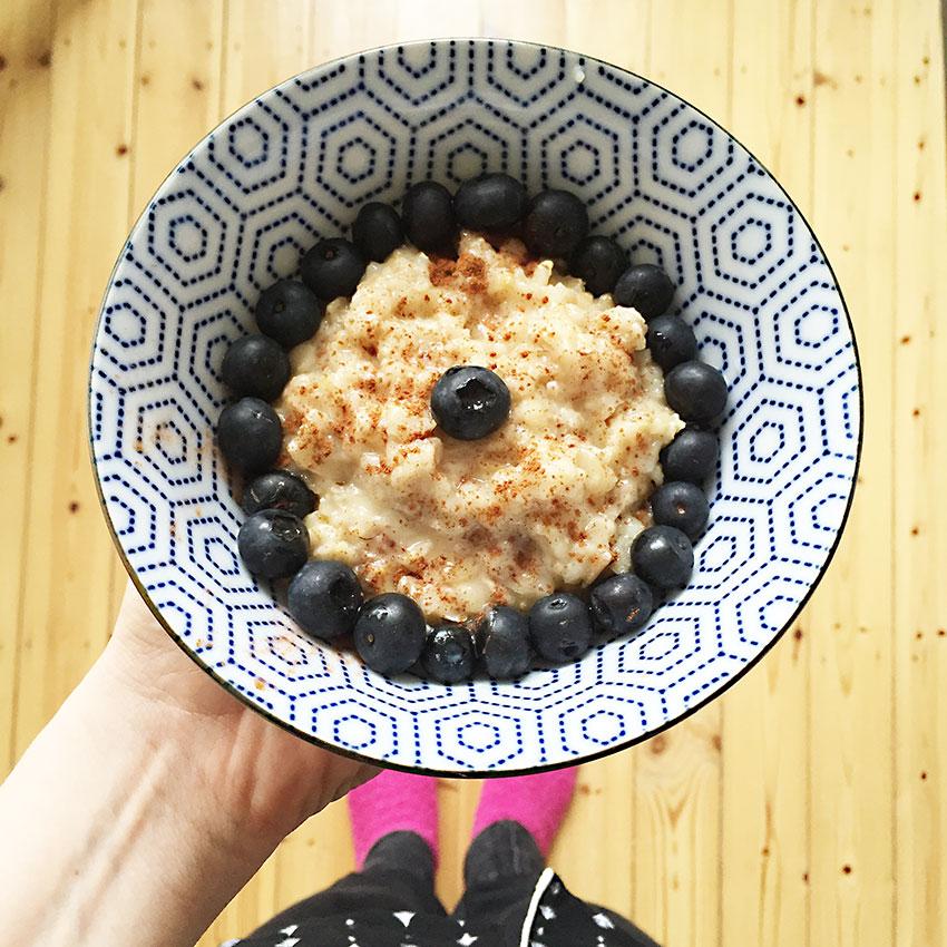 porridge vegetarisch vegan